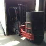 Collecte des pneus